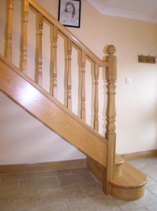 White Oak Open Plan Stairs – Boyle Joinery